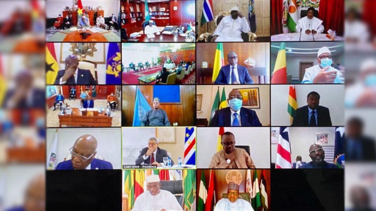 ECOWAS Leaders Hold Virtual Meeting over Mali crisis - FlashInfoNg